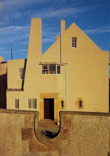 Und Architektur haben wir uns auf der Schottland Reise auch angesehen. (Architekt: Charles Rennie Mackintosh, Hill House)