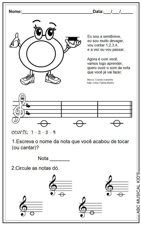 Amado ATIVIDADES DE EDUCAÇÃO INFANTIL E MUSICALIZAÇÃO INFANTIL  ZI97