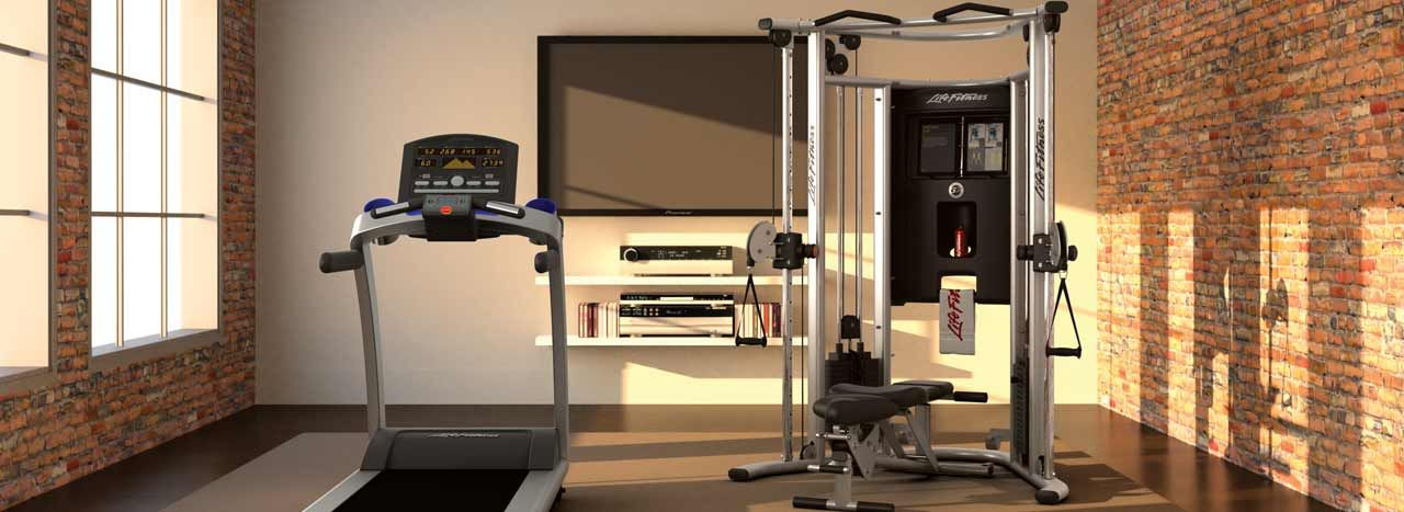 Gym equipments cardio fitness provides solutions for fitness and