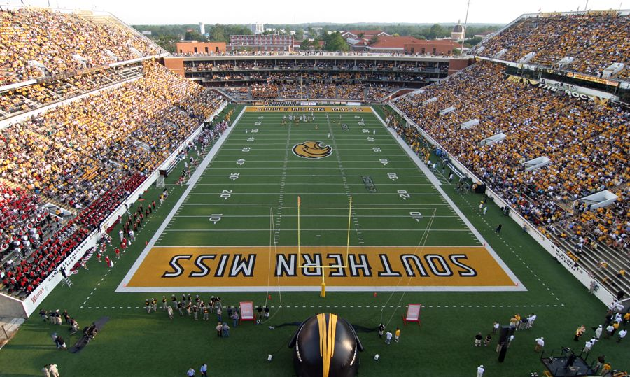 College Football Stadiums Southernmiss Com The Southern Miss
