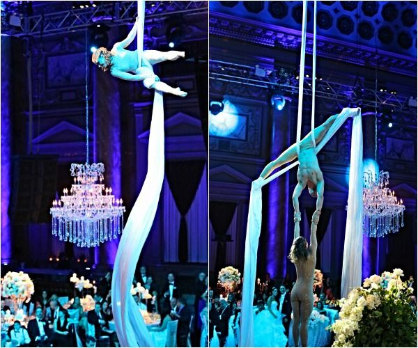 Wedding Entertainment Acrobats At Capitale Nyc