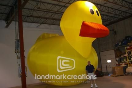 Giant Ducky! Made in Minnesota.