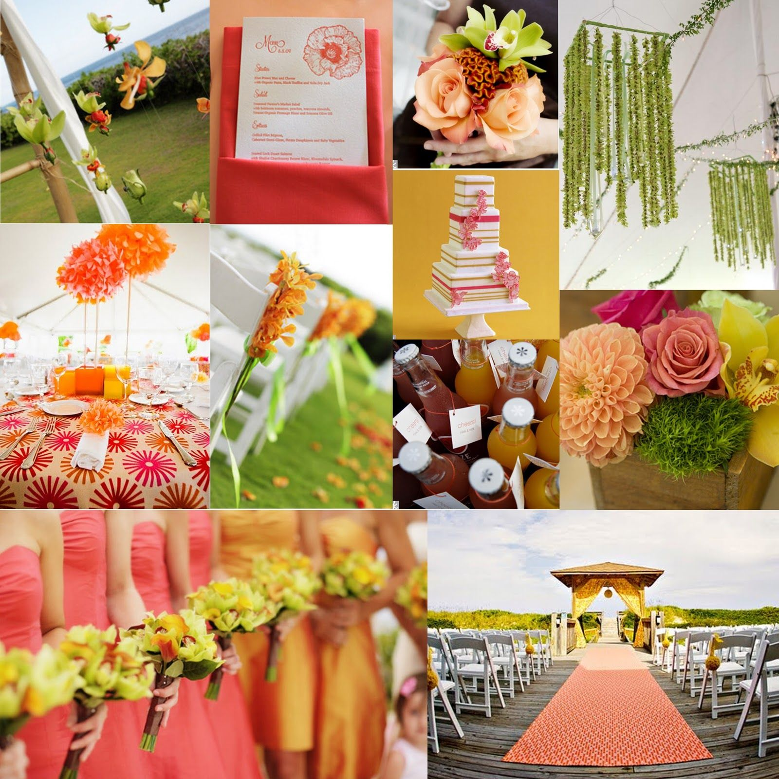 Summer Wedding Colors | ... Beach, Norfolk, OBX: Wedding Wednesday ...