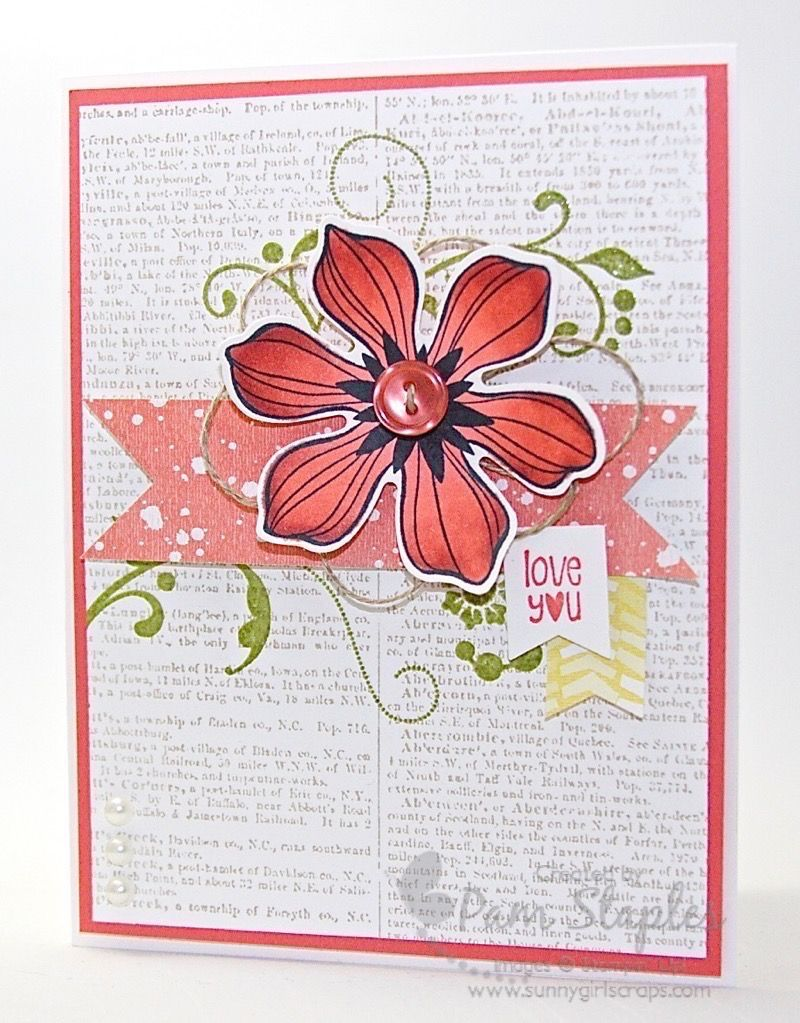 Pcccs beautiful bunch stamp set cards craft and retirement cards