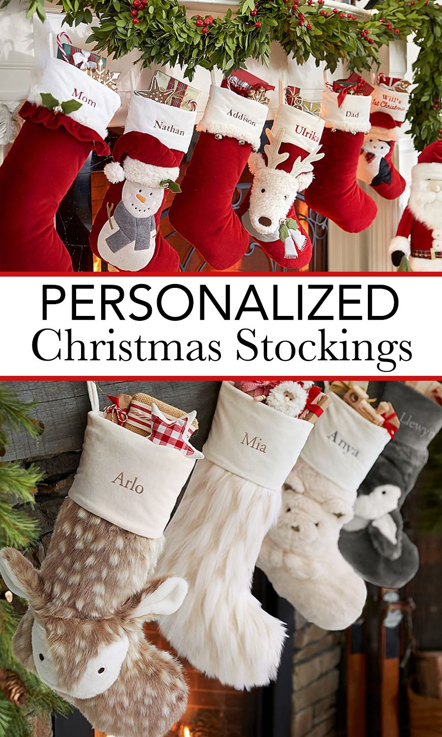 12 Best Personalized Christmas Stockings | Christmas