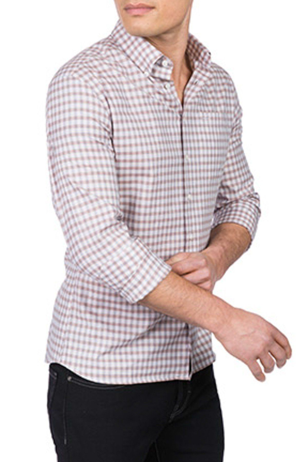 Plaid Modern Fit Shirt