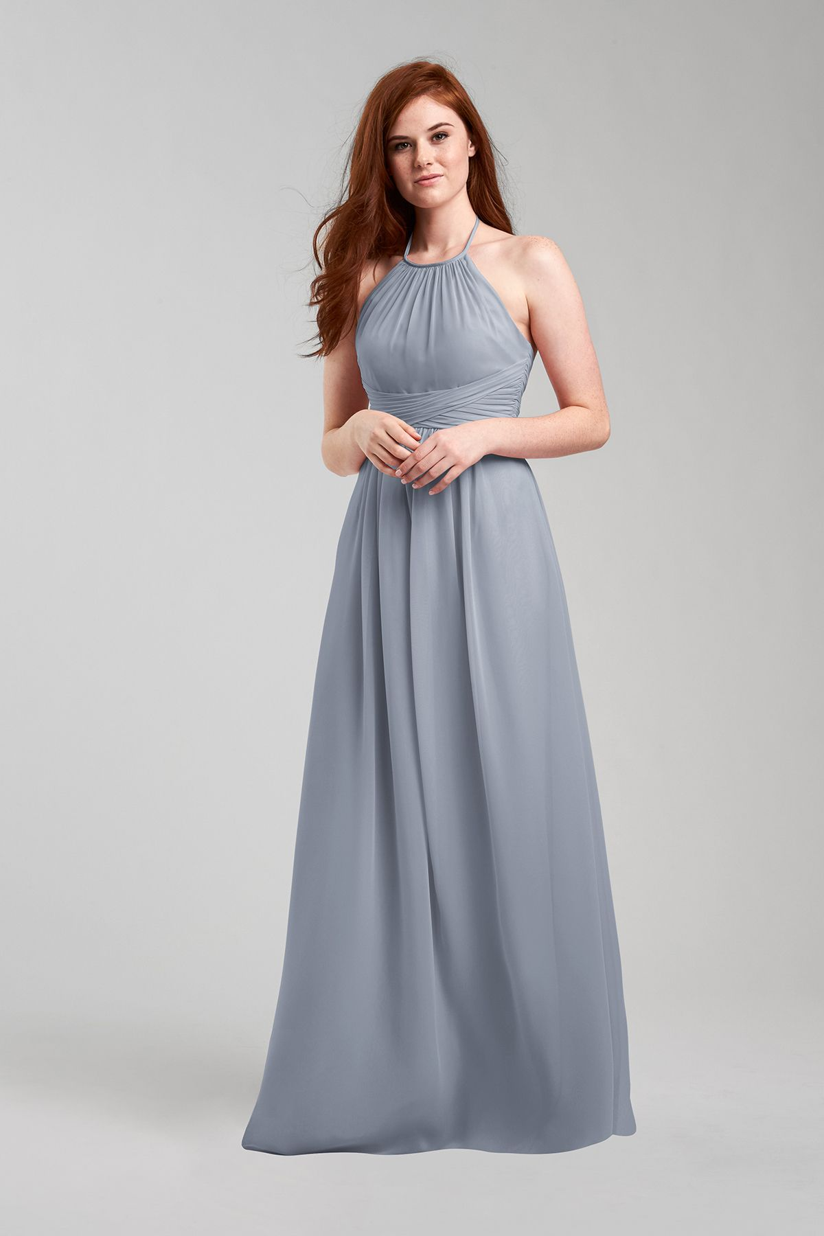 7d4d0c58a9ab6 Diana Bridesmaid Dress in Mystic in Chiffon   andie's bridesmaids ...