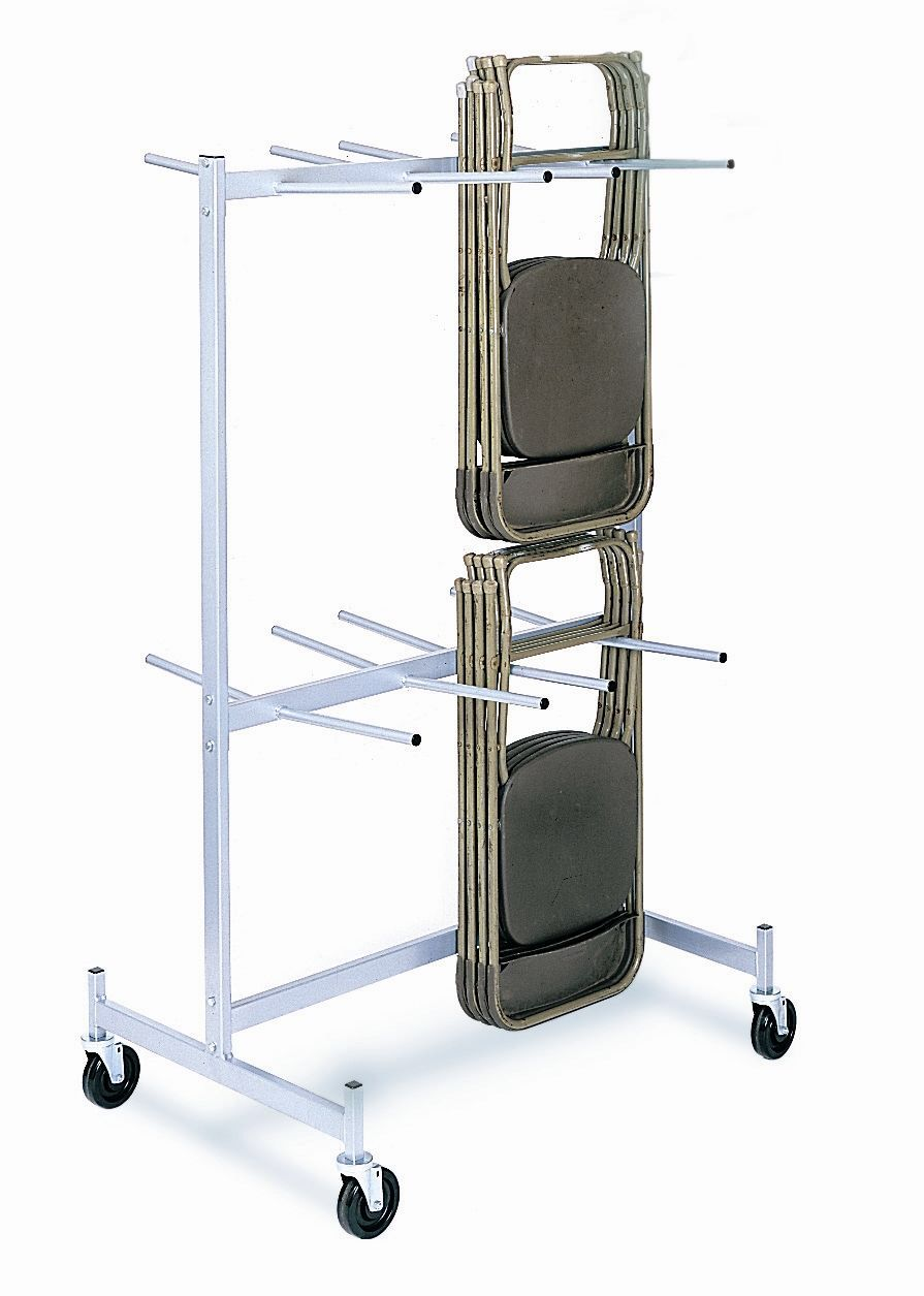 1000 Lb Capacity Compact Size Hanging Folded Chair Dolly Storage Table Chairs Folding Chair