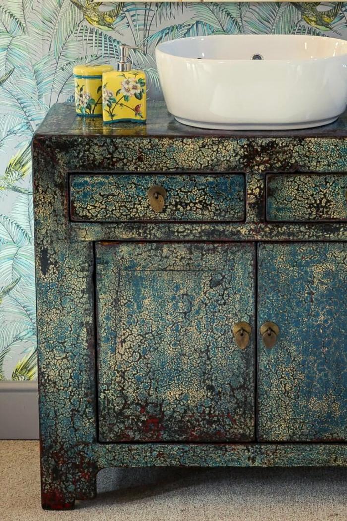 Old Wood Bathroom Storage Ideas