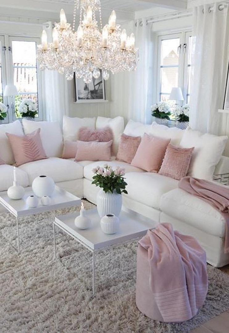 48 Most Popular Living Room Design Ideas For 2019 Images Page 13 Of 48 Evelyn S World My Dreams My Colors And My Life Romantic Living Room Living Room Decor Cozy Living Room Designs Idea chic living roomdecor