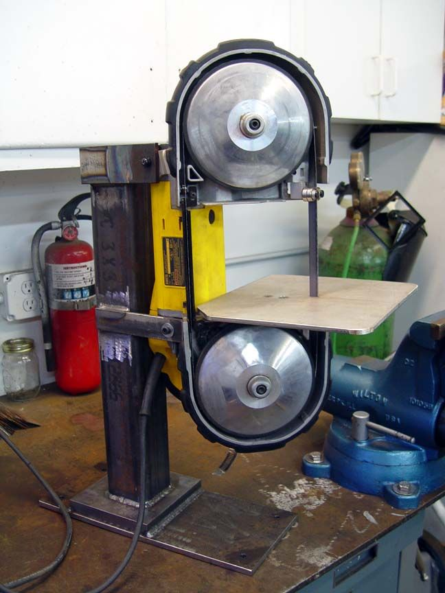 Portable Bandsaw Mounting Pictures Needed Welding Tool