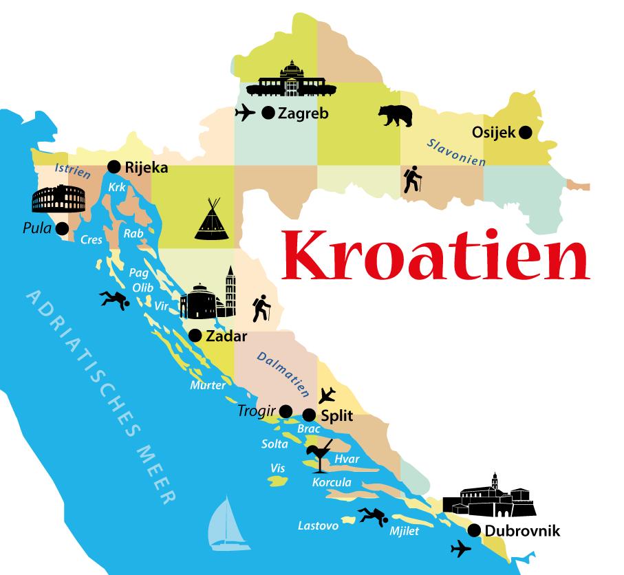 Karte Istrien Kroatien.Kroatien Inseln Tipps Und Alle Infos Inselhopping Und
