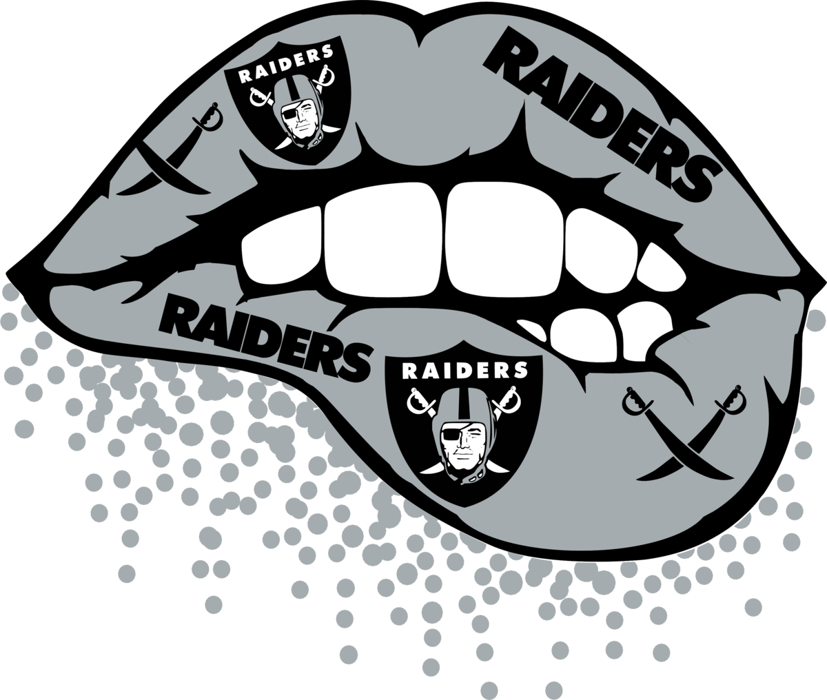 Oakland Raiders,nfl svg, Football svg file, Football logo ...