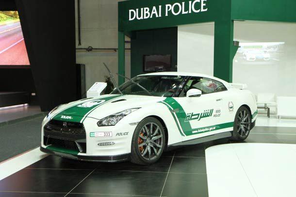 The incredible sports cars of the Police of Dubai! (Bugatti