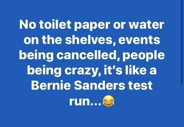 Pin By Tami Durden On Corona Geddon Meme Collection Crazy People Bernie Sanders Paper