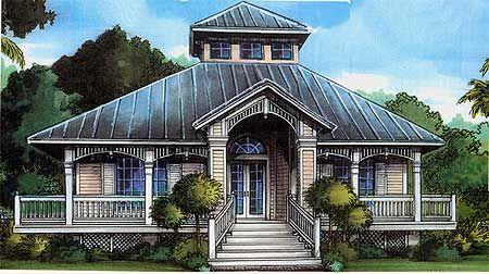 Plan 24046bg Florida Cracker Style Beach Style House Plans Florida House Plans Beach House Plans