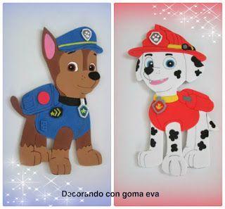 Pin de valeria en manualidades pinterest la patrulla - Manualidades patrulla canina ...