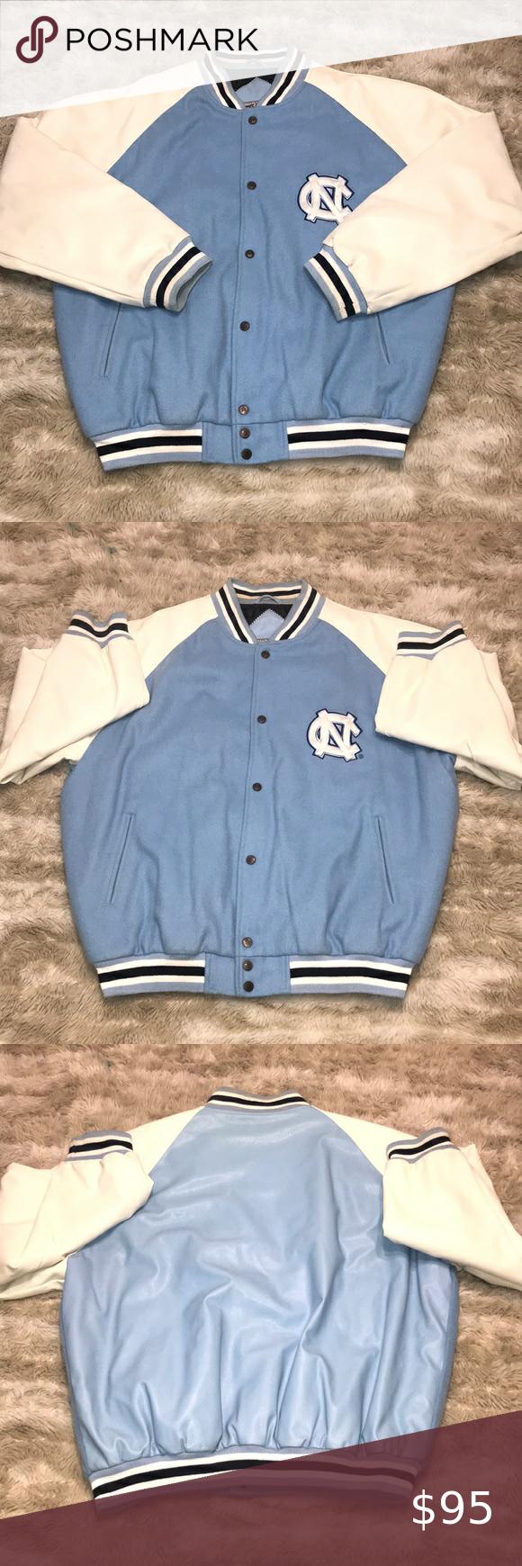 Vtg North Carolina Jacket Jackets Fashion Vintage Jacket [ 1740 x 580 Pixel ]