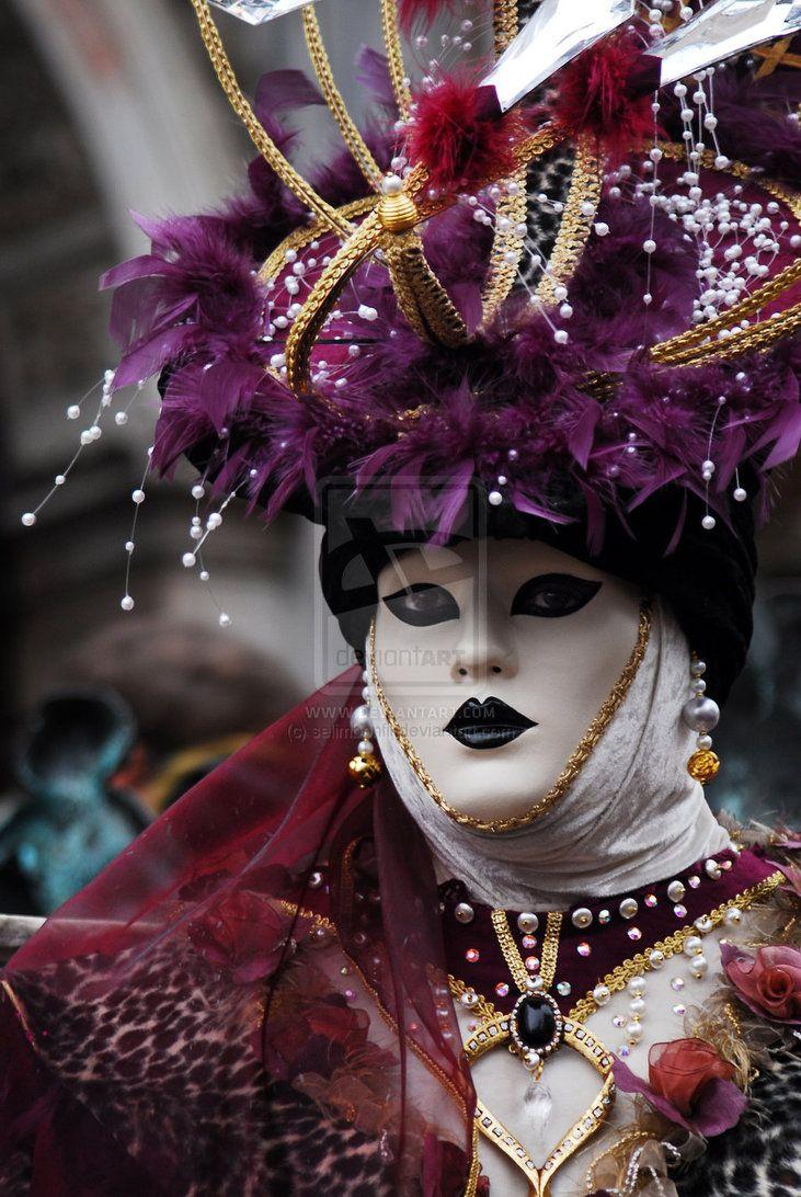 81671db3e709 I'm Dreaming of Venice 61 by selimbonfil on deviantART Venice Carnival  Costumes, Venetian