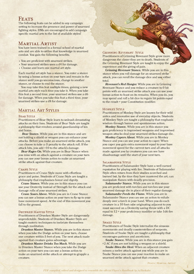 Pin by J Smith on D&D Setting | Dnd 5e homebrew, Monk dnd