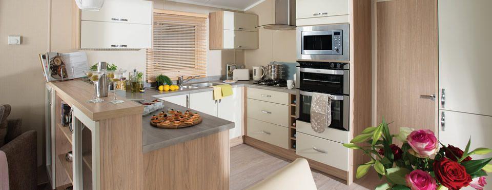 Regal Autograph Kitchen Home, Caravan holiday