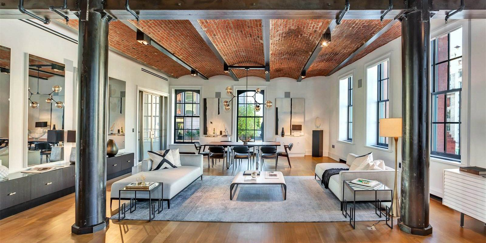 Loft dans le Puck Building à New York | Lofts, Industrial and Interiors
