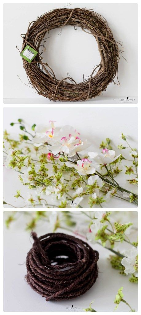 Spring-Valentine's Day Wreath-Tutorial-IrisNacole.com