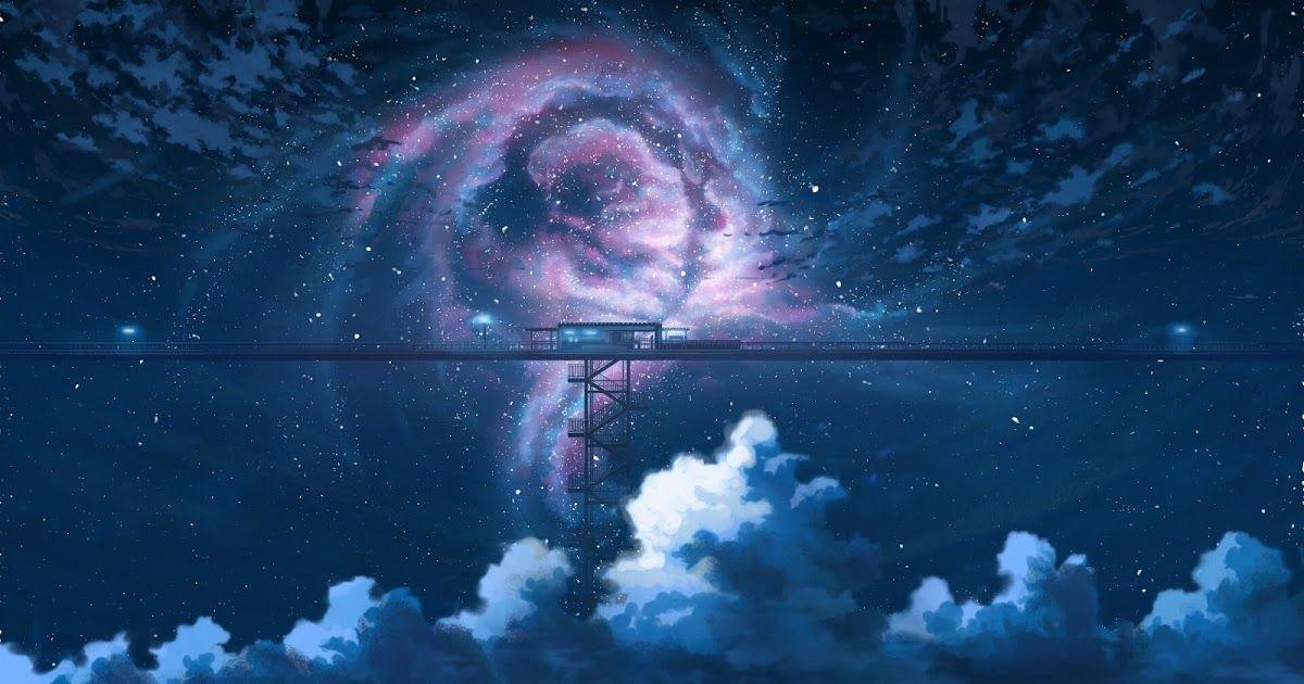 32 Dual Monitor Wallpaper 4k Anime Anime Night Sky Stars Clouds Scenery 4k Wallpaper In 2021 Anime Wallpaper 1920x1080 Anime Wallpaper Background Images Wallpapers