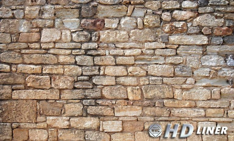 Faux rock stone series window well liners window