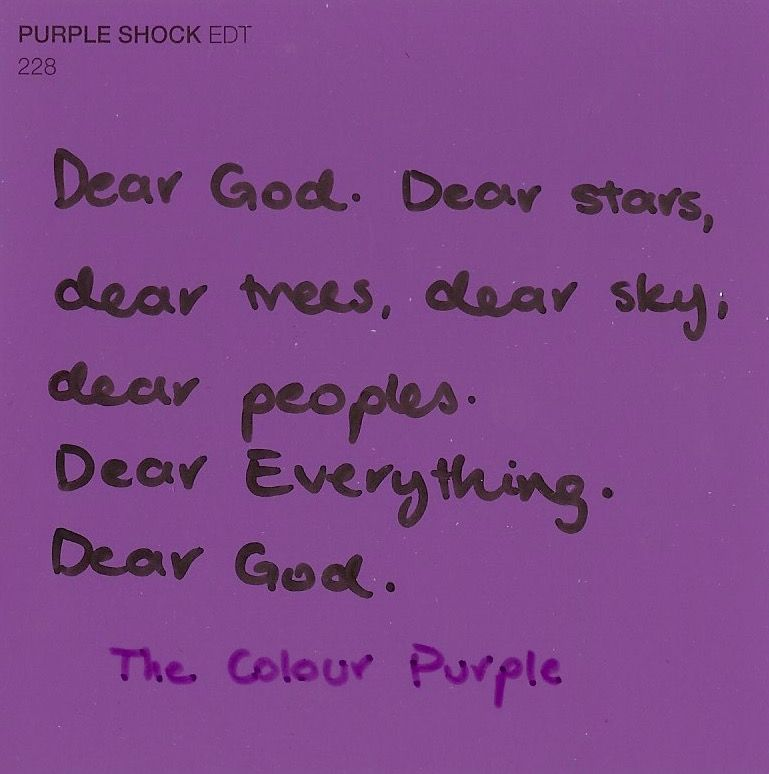 The Color Purple // Alice Walker | books | Pinterest | Alice walker