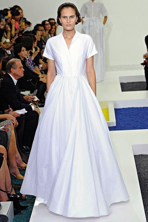 Boyfriend Shirt Wedding Dress Extreme Minimalist Shirtdress Gowns Jil