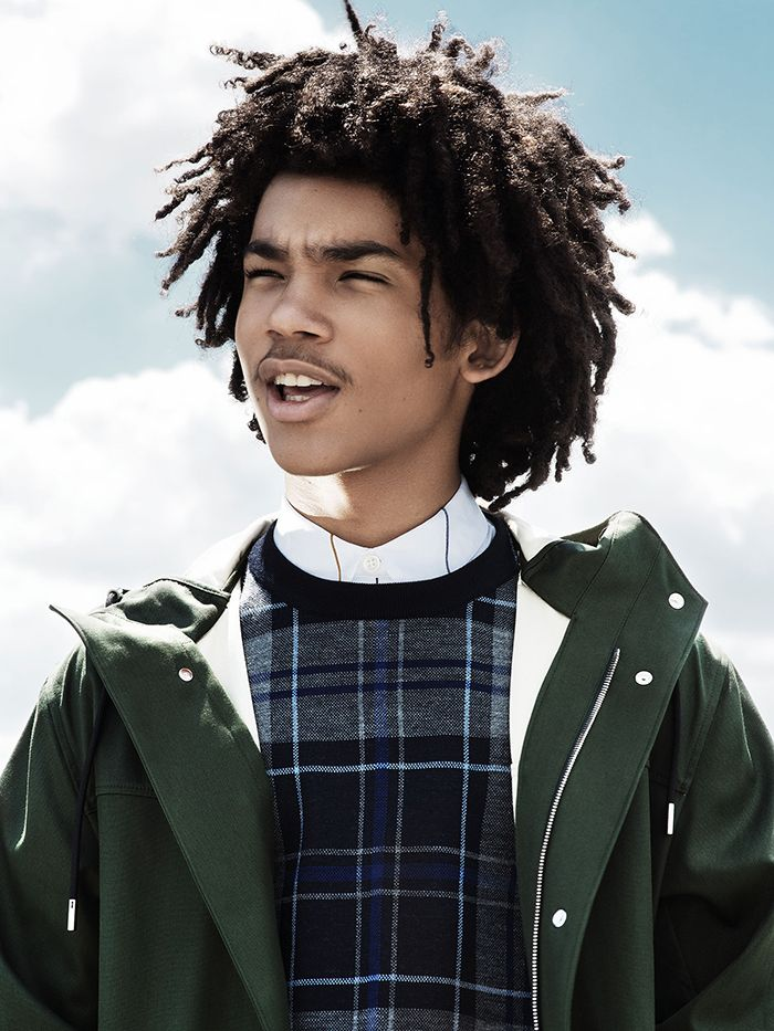 Luka Sabbat Poses For W Shoot, Talks Fashion