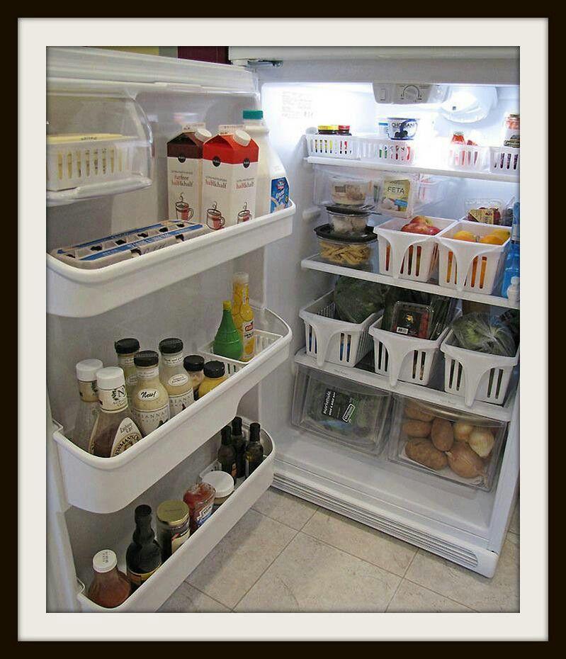 More fridge storage