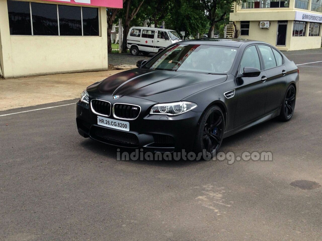 Bmw M5 Facelift Previewed At Chennai Track Event Bmw Bmw M5 Car