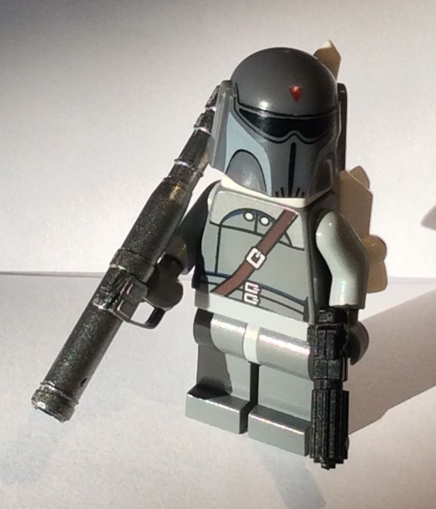 Lego Star Wars JANGO FETT Bounty Hunter minifig minifigure