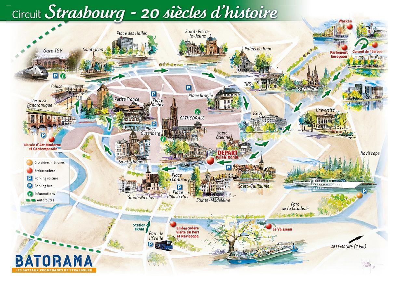 BATORAMA river boat tour Strasbourg France Strasbourg over 20
