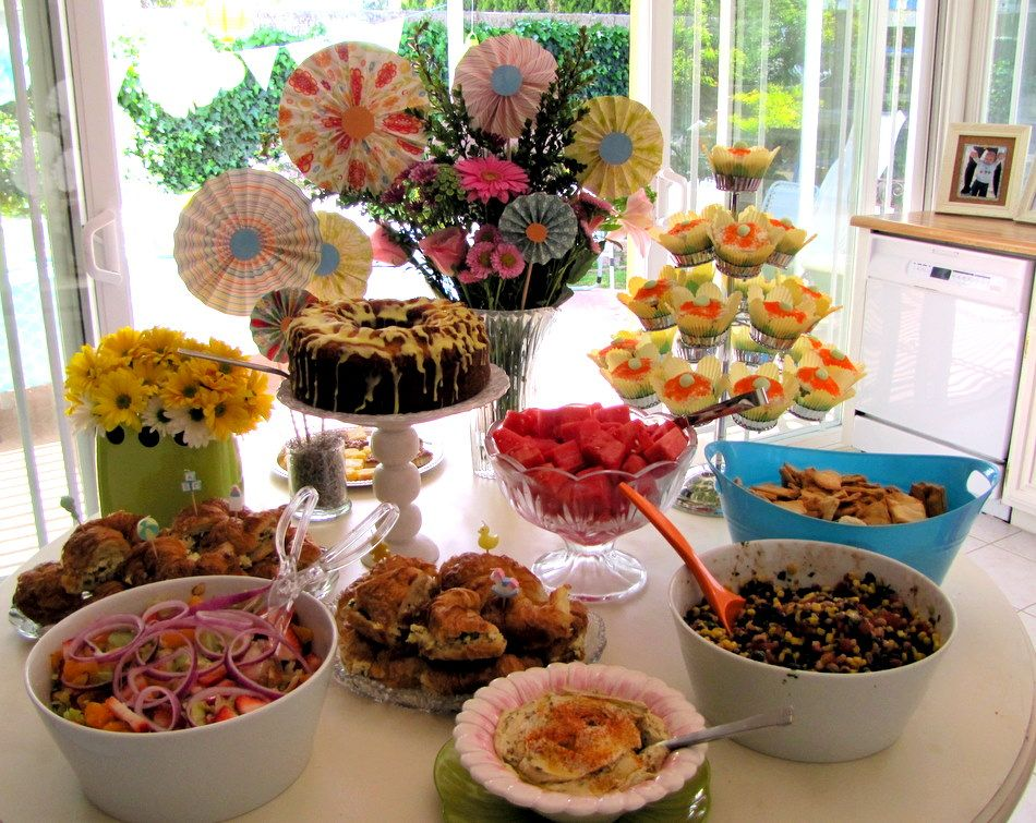 Gender Reveal Party Food And Baby Shower Drinks Ideas Baby Shower