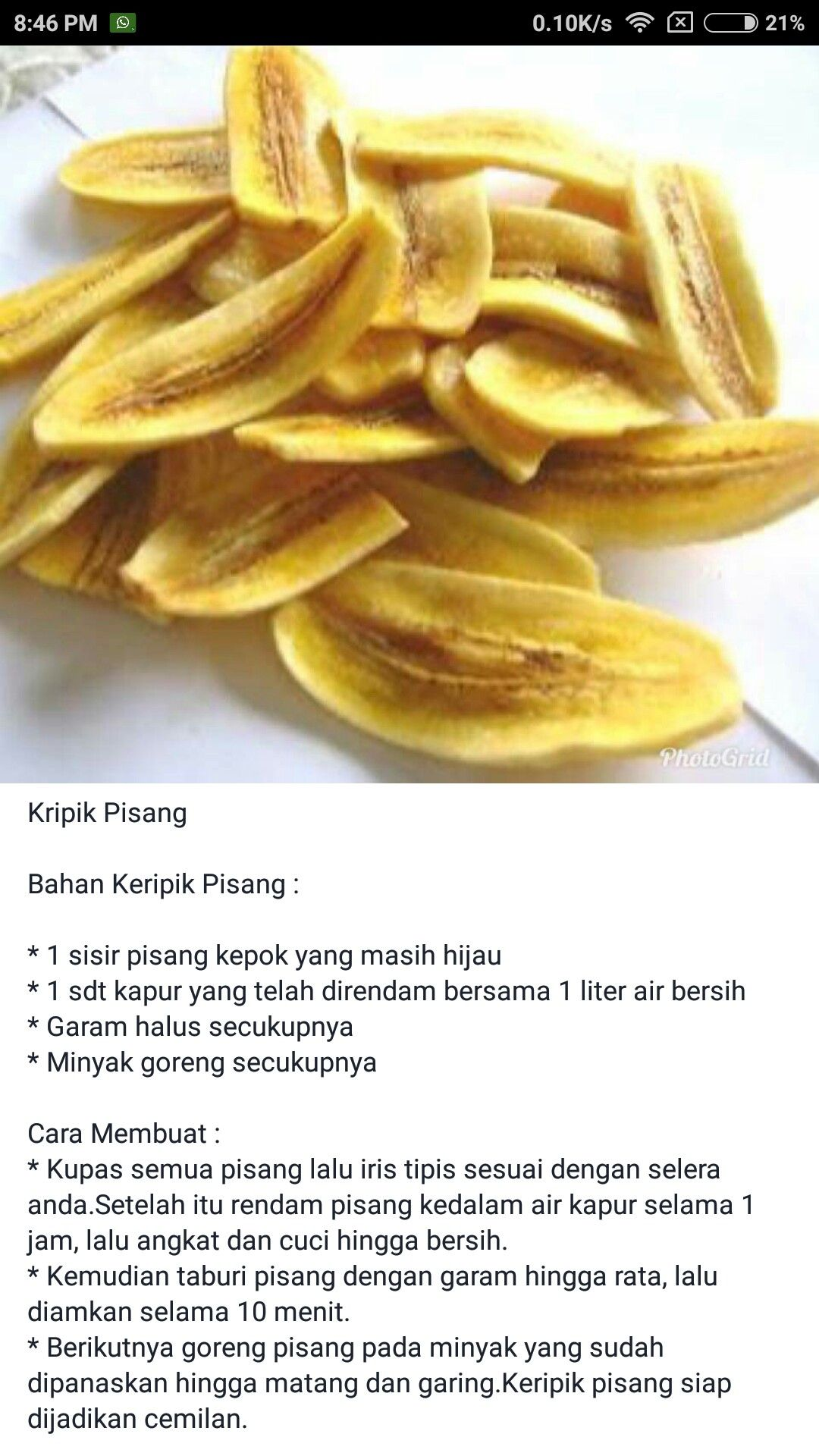 Cara Membuat Cemilan Dari Pisang : membuat, cemilan, pisang, Keripik, Pisang, Makanan, Minuman,, Cemilan,