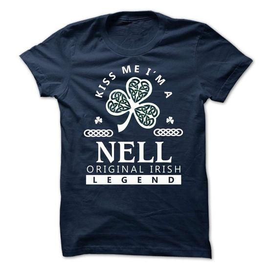 NELL - KISS ME IM Team - #gifts for girl friends #bridal gift. GET IT => https://www.sunfrog.com/Valentines/-NELL--KISS-ME-IM-Team.html?68278