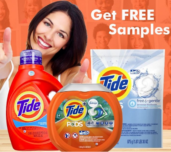 Pin By Amazing Offers On Freebies Free Tide Free Laundry