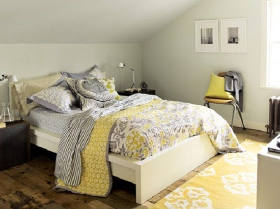 Grey And Yellow Bedroom Impressive Soothing Grey And Yellow Bedrooms  Bing Images  Decorate  Redo Inspiration Design