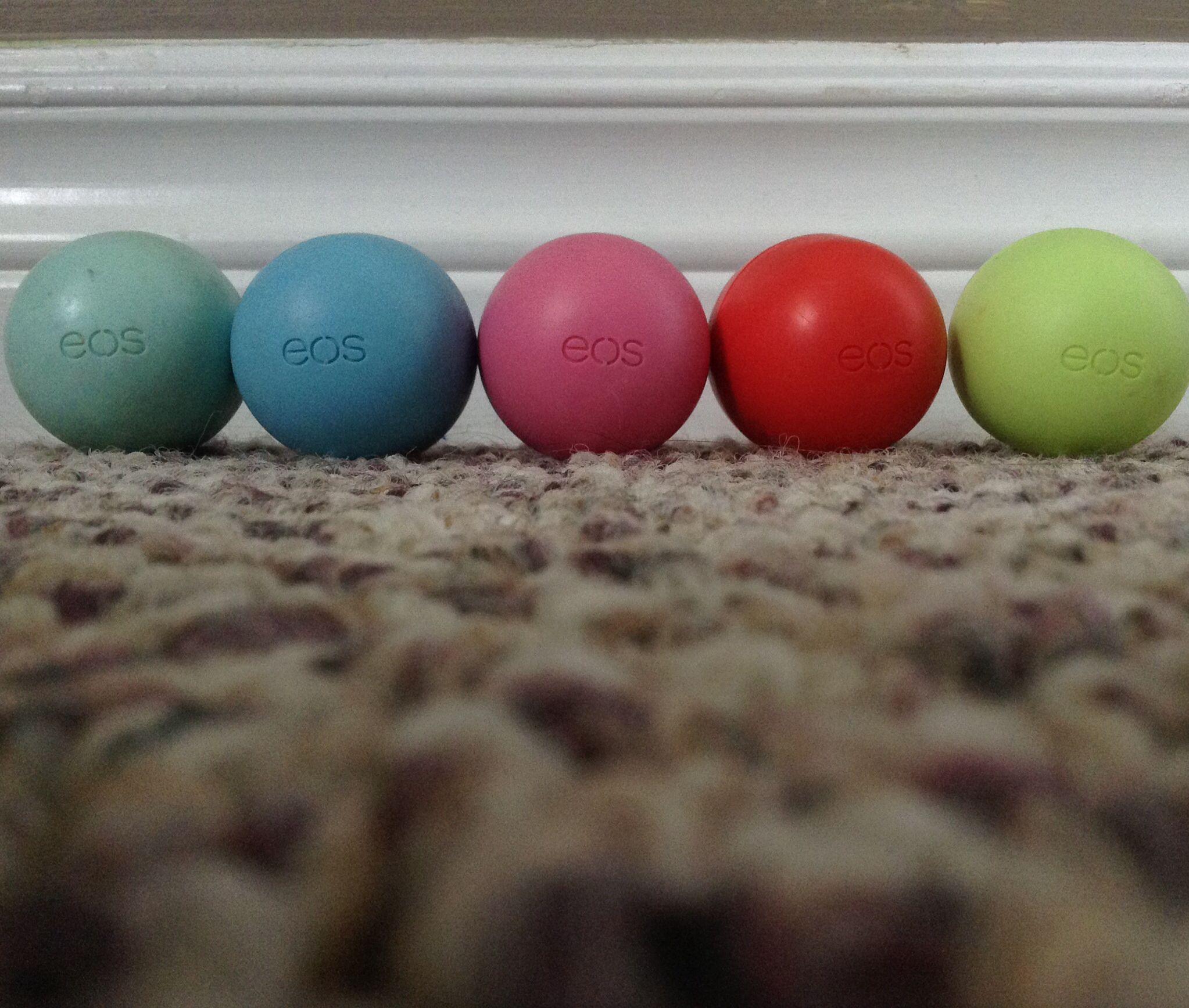Eos lip balm love them!!!