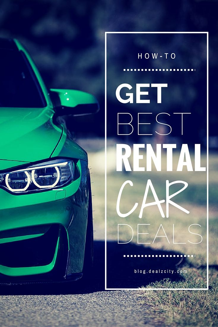 Renting a car shouldn't cost a fortune! Learn today how you can save the next time you're renting a car!