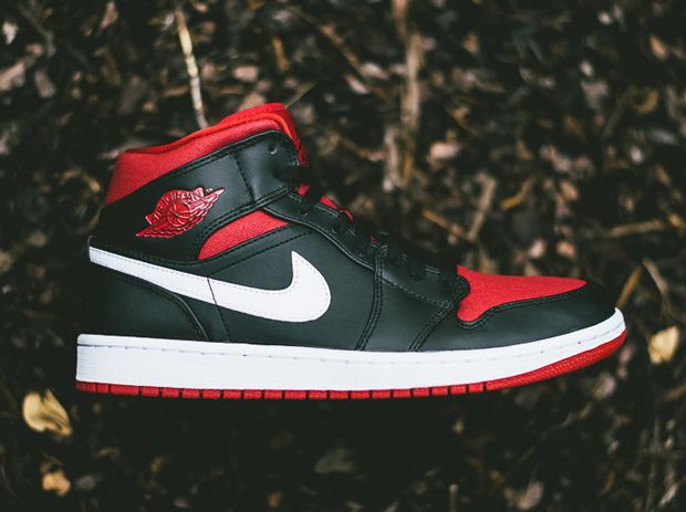 1271ba45a568 Air Jordan 1 Mid – Black – Gym Red – White