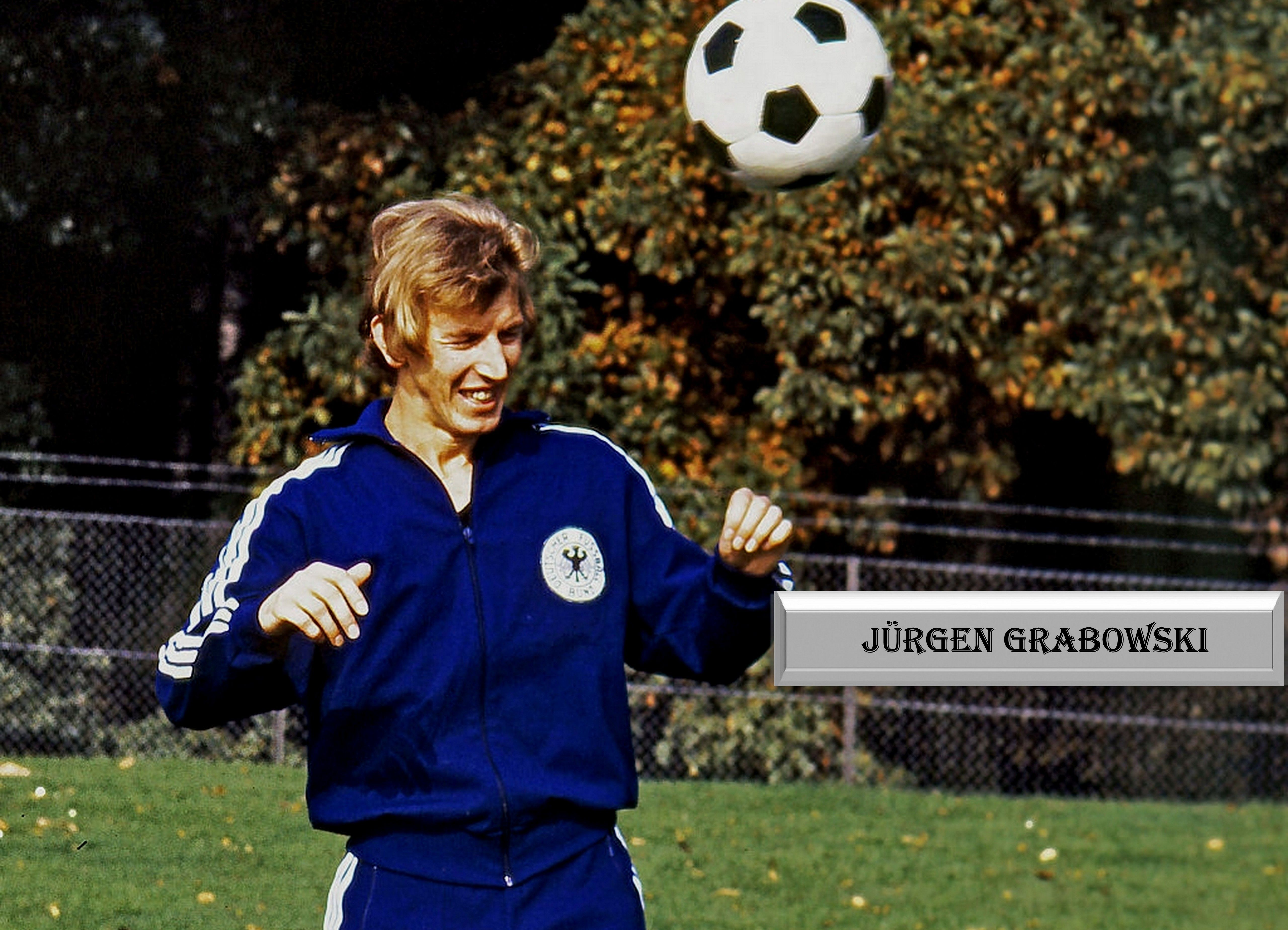 Jurgen Grabowski Dfb Training Http Frankfurter Eintracht