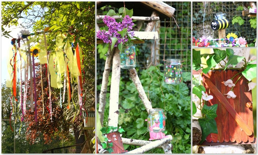Gartendeko Aus Kinderhand 4 Einfache Anleitungen Mamahoch2 Garten Deko Kinder Basteln Garten Kinder Hande