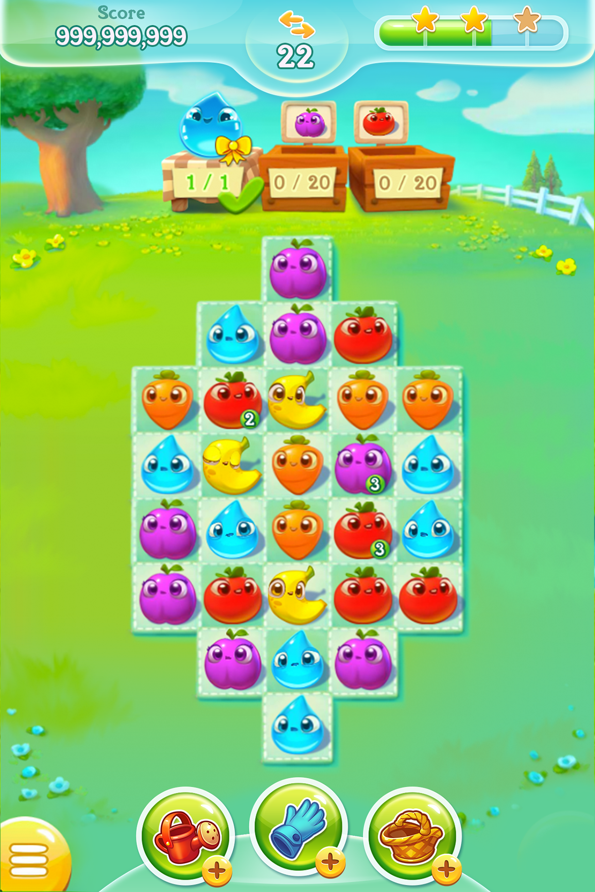 farm heroes super saga mod apk (unlimited gold + money)