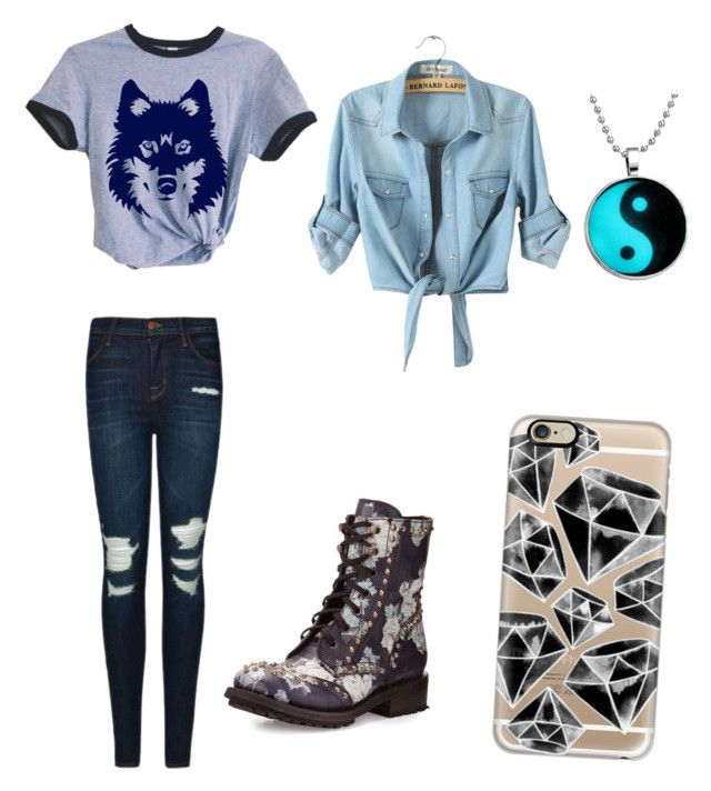 """""""Untitled #105"""" by iamaloser2015 ❤ liked on Polyvore featuring Casetify, J Brand and Ash"""