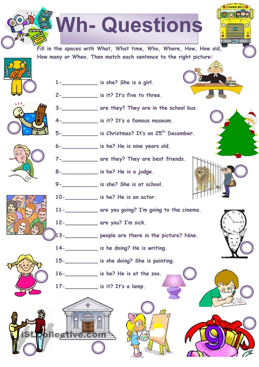 worksheet Why Questions Worksheet 78 best images about question words on pinterest language student centered resources and esl