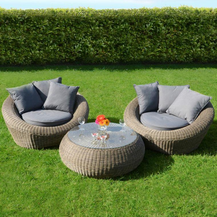 Sofas jardin - los 50 mejores modelos de esta temporada - | Sillon ...